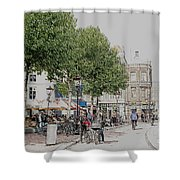 Amsterdam Streets 3 Shower Curtain