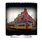 Amsterdam Transportation Shower Curtain