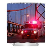 Amubulance  Shower Curtain