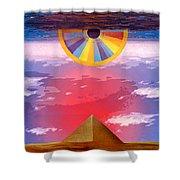 Amun Ra Shower Curtain
