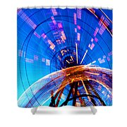 Amusement Park Rides 1 Shower Curtain