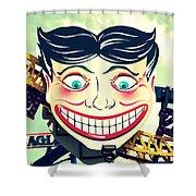 Amusement Smile Shower Curtain