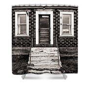 An America Home Shower Curtain