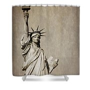 An American Icon Shower Curtain