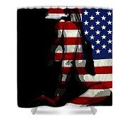 An American Woman Shower Curtain