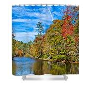 An Appalachian Shangri La Shower Curtain