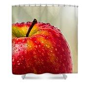 An Apple A Day Shower Curtain
