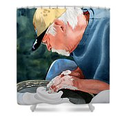 The Potter Begins Shower Curtain