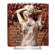 An Autumn Bottom Shower Curtain