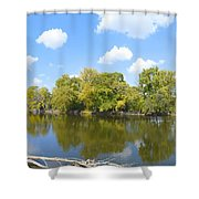 An Autumn Day Shower Curtain