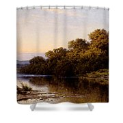 An Autumn Evening North Wales Shower Curtain
