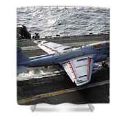 An Ea-6b Prowler Takes Shower Curtain
