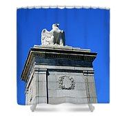 An Eagle To Arlington Shower Curtain