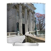 An Elegant Newport Mansion Shower Curtain