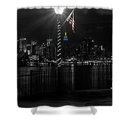 An Empire In The Distance Shower Curtain