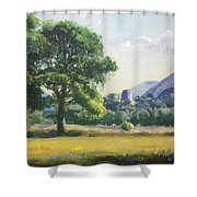An Englishman's Castle Shower Curtain