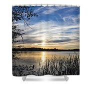 An Evening In Lakes Country Shower Curtain