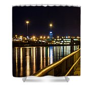 An Evening In Sioux City Shower Curtain