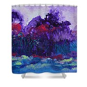 An Evening In Spring Shower Curtain
