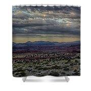 An Evening In The Desert Shower Curtain