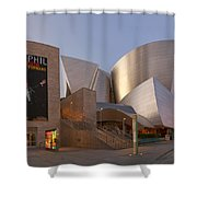 An Evening With Gustavo - Walt Disney Concert Hall Architecture Los Angeles Shower Curtain