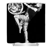 An Exotic Russian Dancer Shower Curtain by Underwood Archives