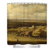 An Extensive Landscape Shower Curtain