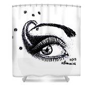 An Eye For Art Shower Curtain