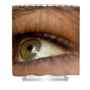 An Eye For Beauty Shower Curtain