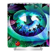 An Eye For Nature Shower Curtain