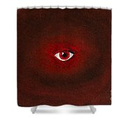 An Eye Is Upon You Shower Curtain