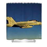 An Fa-18f Super Hornet Displays Shower Curtain