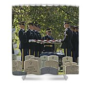 An Honored Dead Shower Curtain