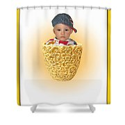 An Image Of A Photograph Of Your Child. - 03 Shower Curtain