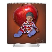 An Image Of A Photograph Of Your Child. - 04 Shower Curtain