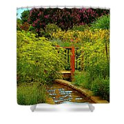 An Impressionists View Shower Curtain