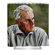 An Interesting Man - Viktor Hesse Shower Curtain