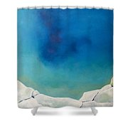 An Invitation To Heal Shower Curtain