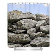 Stone Walls Shower Curtain