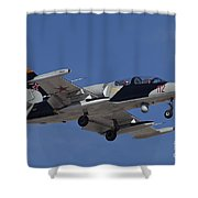 An L-39za Albatros Used As A Threat Shower Curtain