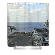 An Mh-60s Sea Hawk Takes Shower Curtain
