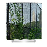 An Obstructed View Of Washington Shower Curtain