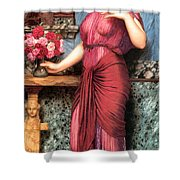 An Offering To Venus Shower Curtain