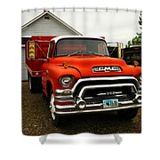An Old Gmc  Shower Curtain by Jeff Swan