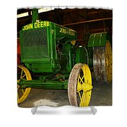 An Old Restored John Deere Shower Curtain