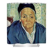 An Old Woman Of Arles Shower Curtain