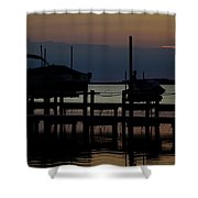 An Outer Anks Of North Carolina Sunset Shower Curtain