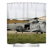 An Sh-3d Sea King Airborne Early Shower Curtain