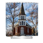 Anaconda Christian Church Shower Curtain
