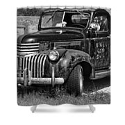 Anaconda Vintage Truck Shower Curtain